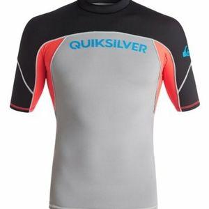 Quiksilver Performer Short Sleeve Rashguard